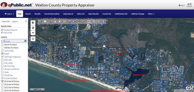 Lots 5 & 6 Walnut Street, Santa Rosa Beach, FL 32459 (MLS #838683) :: The Premier Property Group