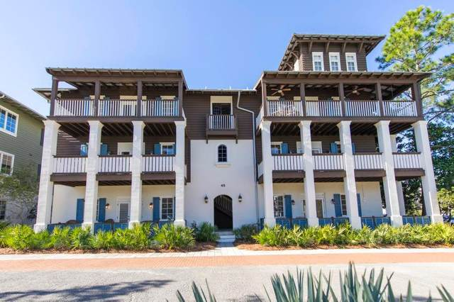 45 St Augustine Street D, Inlet Beach, FL 32461 (MLS #841984) :: Scenic Sotheby's International Realty