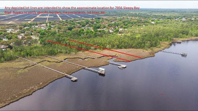 7956 Sleepy Bay Boulevard, Navarre, FL 32566 (MLS #843750) :: Berkshire Hathaway HomeServices PenFed Realty