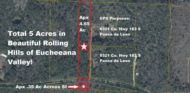 5 Ac S Hwy 183, Ponce De Leon, FL 32455 (MLS #847321) :: Engel & Voelkers - 30A Beaches