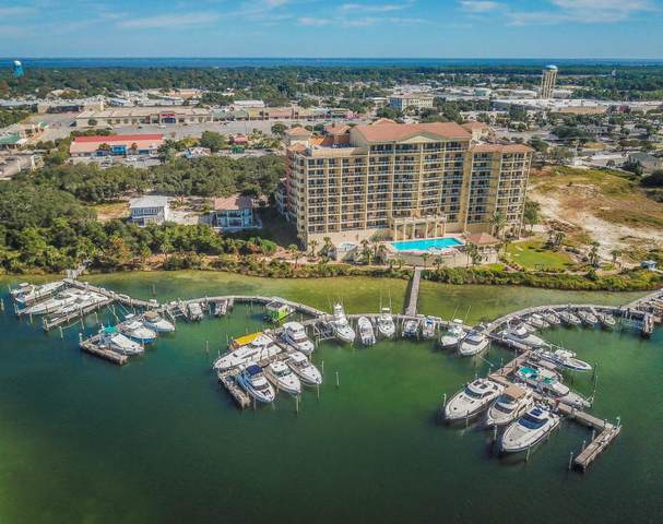 770 Harbor Boulevard D9, Destin, FL 32541 (MLS #847977) :: Berkshire Hathaway HomeServices PenFed Realty
