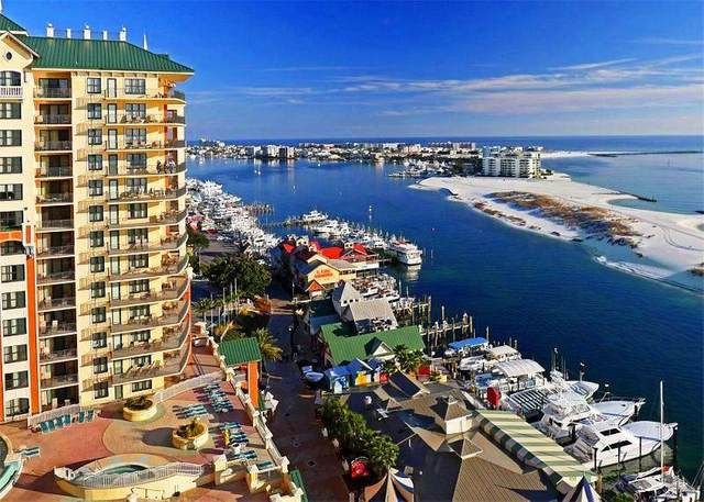 10 Harbor Boulevard E601d, Destin, FL 32541 (MLS #849480) :: Berkshire Hathaway HomeServices Beach Properties of Florida