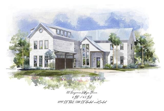 122 Seagrove Village Drive, Santa Rosa Beach, FL 32459 (MLS #849751) :: The Beach Group