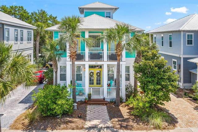 38 Beach Bike Way, Inlet Beach, FL 32461 (MLS #850228) :: Coastal Luxury
