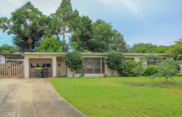 41 NE Laurie Drive, Fort Walton Beach, FL 32548 (MLS #850244) :: Back Stage Realty