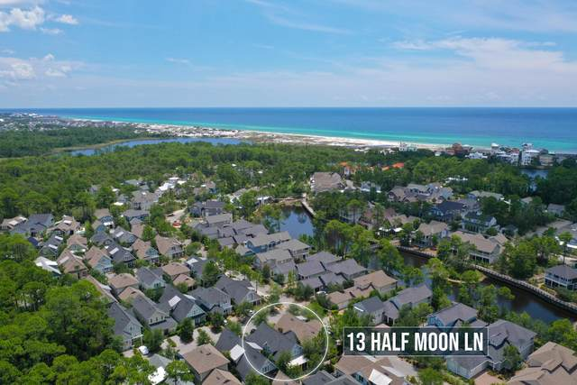 13 Half Moon Lane, Santa Rosa Beach, FL 32459 (MLS #850821) :: Luxury Properties on 30A