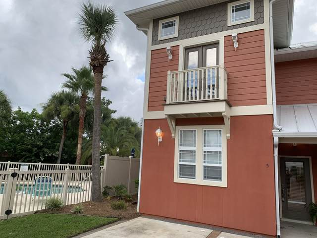 100 Downing Street Unit 5, Panama City Beach, FL 32413 (MLS #850953) :: Berkshire Hathaway HomeServices PenFed Realty