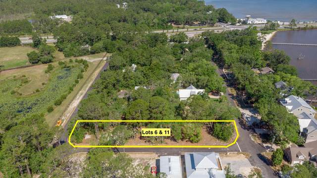 Lot 6 & 11 Bay Magnolia Lane, Santa Rosa Beach, FL 32459 (MLS #852195) :: Linda Miller Real Estate