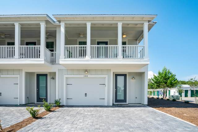 4923 E County Hwy 30A E-105, Santa Rosa Beach, FL 32459 (MLS #852913) :: Berkshire Hathaway HomeServices Beach Properties of Florida