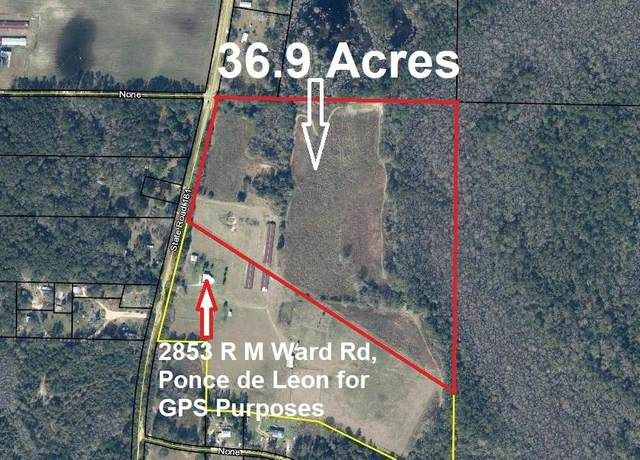 37 Ac R M Ward Road, Ponce De Leon, FL 32455 (MLS #853983) :: Engel & Voelkers - 30A Beaches