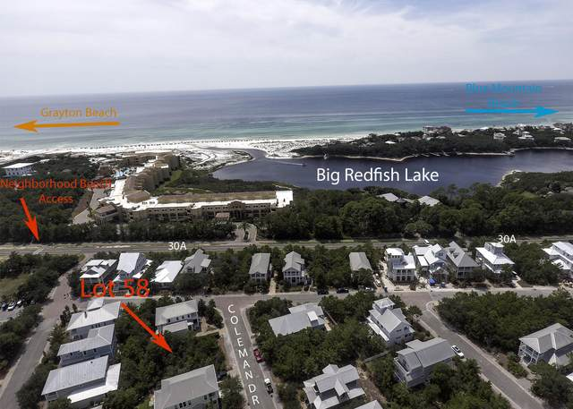 Lot 58 Coleman Drive, Santa Rosa Beach, FL 32459 (MLS #854935) :: Better Homes & Gardens Real Estate Emerald Coast