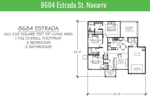 8684 Estrada Street, Navarre, FL 32566 (MLS #855989) :: Somers & Company