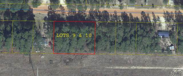 Lot 9 & 10 W Poinsetta Avenue, Defuniak Springs, FL 32433 (MLS #856146) :: Luxury Properties on 30A