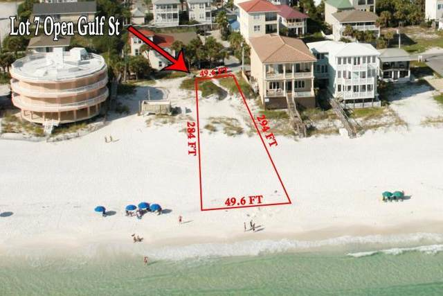 Lot 7 Open Gulf Street, Miramar Beach, FL 32550 (MLS #856538) :: EXIT Sands Realty