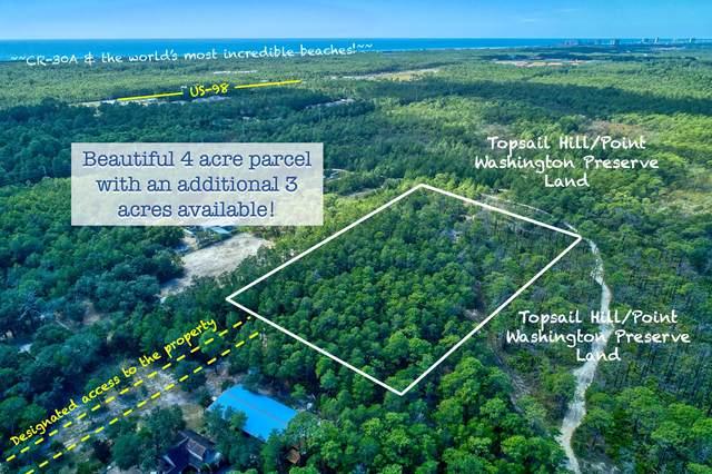 461 Don Bishop Road, Santa Rosa Beach, FL 32459 (MLS #857905) :: Better Homes & Gardens Real Estate Emerald Coast