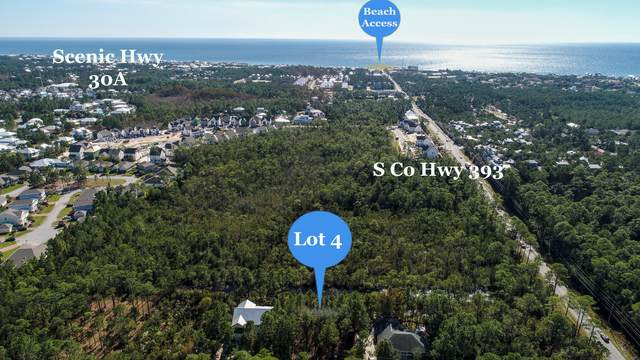 Lot 4 Calm Gulf Drive, Santa Rosa Beach, FL 32459 (MLS #860364) :: The Chris Carter Team