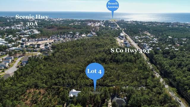 Lot 4 Calm Gulf Drive, Santa Rosa Beach, FL 32459 (MLS #860364) :: Linda Miller Real Estate