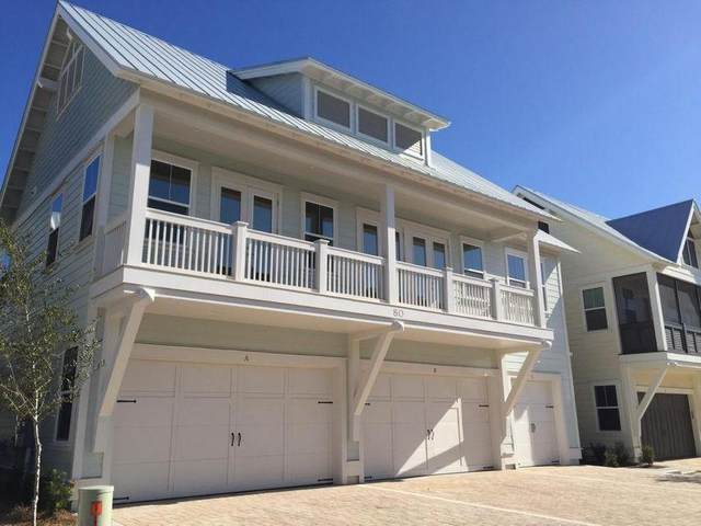 23 Milestone Drive Unit C, Inlet Beach, FL 32461 (MLS #862379) :: Beachside Luxury Realty