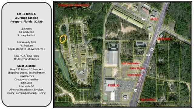 11 C N Lafayette Creek, Freeport, FL 32439 (MLS #862697) :: Berkshire Hathaway HomeServices Beach Properties of Florida