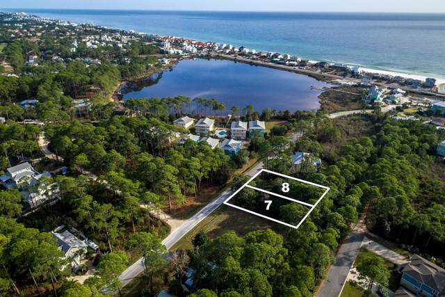 Lots 7 & 8 E Seahorse Circle, Santa Rosa Beach, FL 32459 (MLS #863120) :: The Chris Carter Team