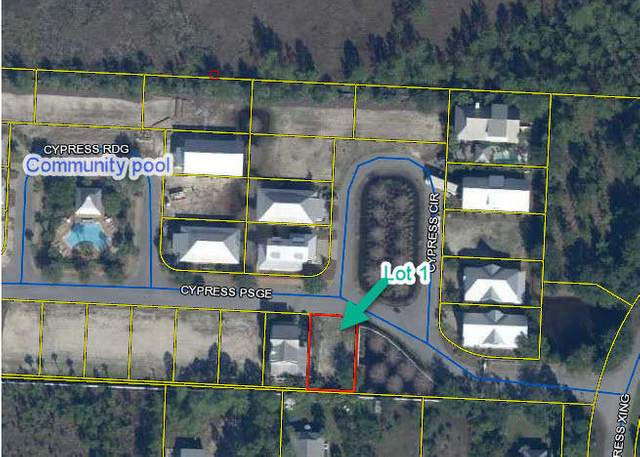 Lot 1 Cypress Passage, Santa Rosa Beach, FL 32459 (MLS #863215) :: Berkshire Hathaway HomeServices PenFed Realty