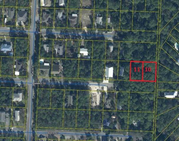 TBD Bramble Street (Lot 10 & 11), Santa Rosa Beach, FL 32459 (MLS #863267) :: Back Stage Realty