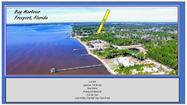 Lot 60 N Sunset North, Freeport, FL 32439 (MLS #863766) :: RE/MAX By The Sea