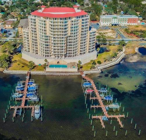 124 SW Miracle Strip Parkway Unit 402, Fort Walton Beach, FL 32548 (MLS #864597) :: The Honest Group