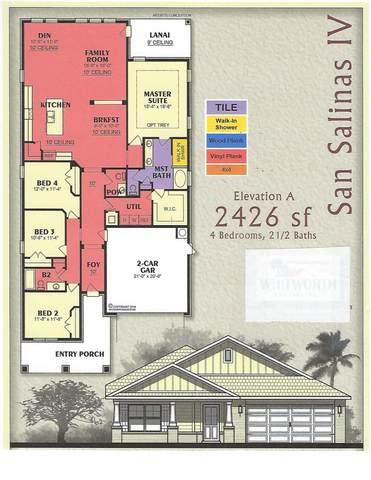 3054 Crown Creek Circle, Crestview, FL 32539 (MLS #864667) :: Beachside Luxury Realty