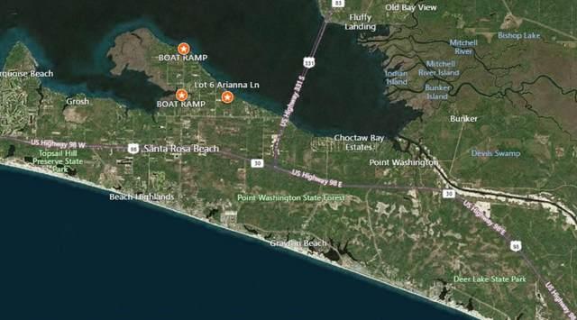 Lot 6 Arianna Lane, Santa Rosa Beach, FL 32459 (MLS #866089) :: Beachside Luxury Realty
