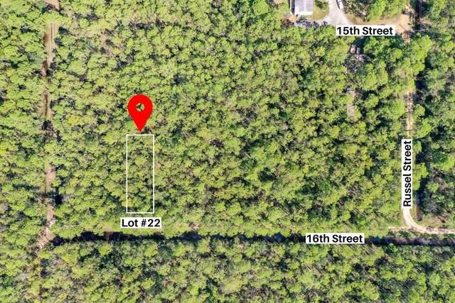 Lot 22 N 16th Street, Santa Rosa Beach, FL 32459 (MLS #867128) :: Scenic Sotheby's International Realty