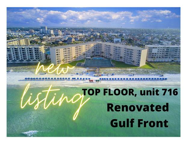 510 Gulf Shore Drive Unit 716, Destin, FL 32541 (MLS #869024) :: Berkshire Hathaway HomeServices Beach Properties of Florida