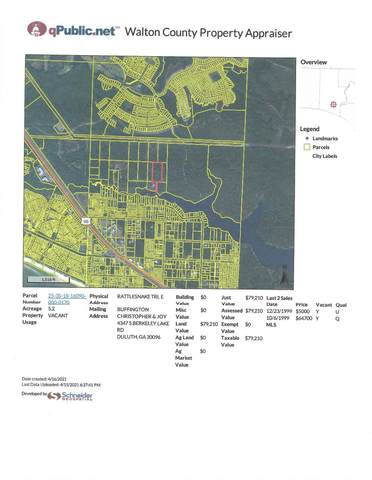 17 Lot Rattlesnak East Trail, Inlet Beach, FL 32461 (MLS #869404) :: The Beach Group