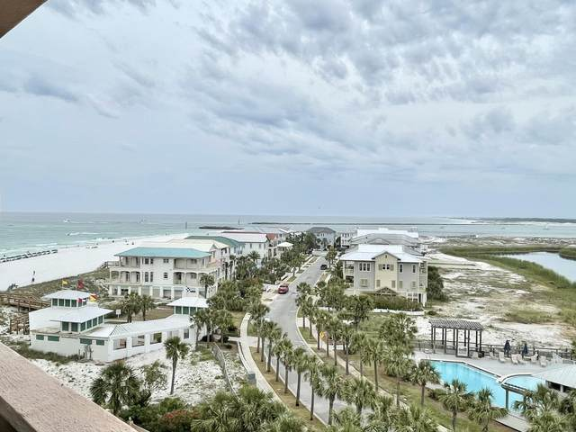 500 Gulf Shore Drive Unit 610B, Destin, FL 32541 (MLS #871898) :: Scenic Sotheby's International Realty