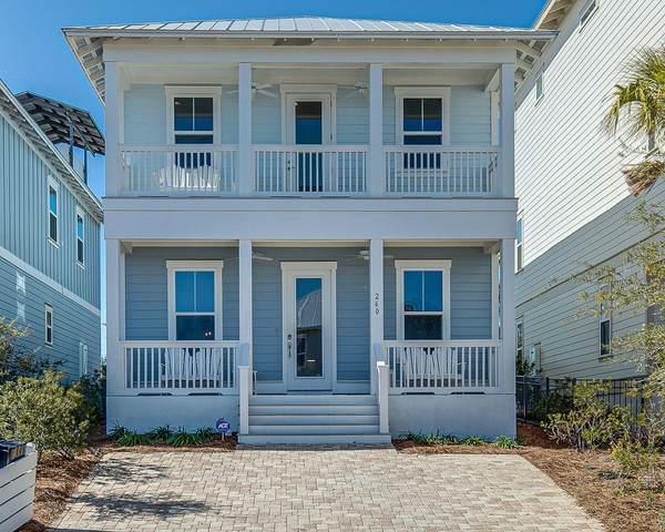 260 Gulfview Circle, Santa Rosa Beach, FL 32459 (MLS #871915) :: Beachside Luxury Realty