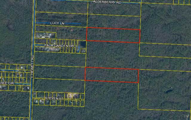 LOTS35&38 E Hewitt Road, Santa Rosa Beach, FL 32459 (MLS #872305) :: Counts Real Estate Group