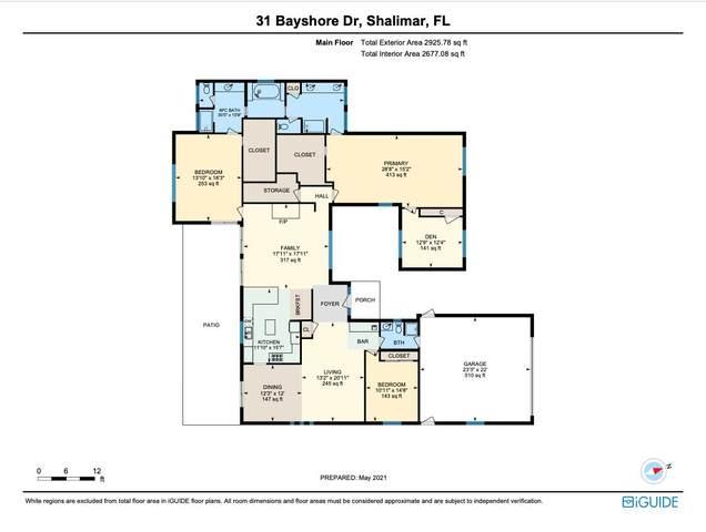 31 Bayshore Drive, Shalimar, FL 32579 (MLS #872898) :: Rosemary Beach Realty