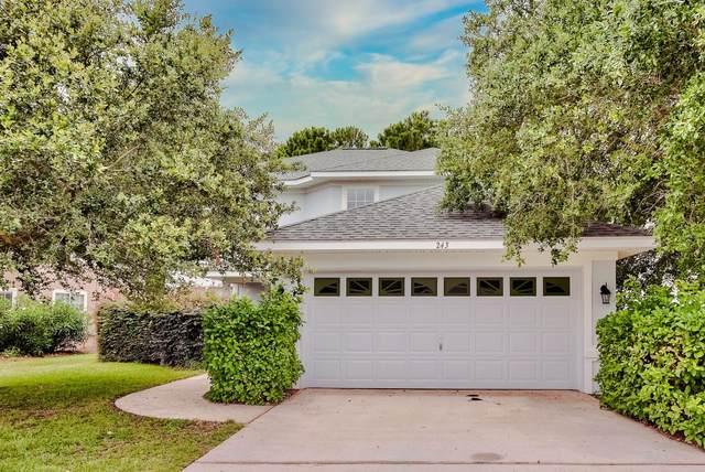 243 Loblolly Bay Drive, Santa Rosa Beach, FL 32459 (MLS #875077) :: NextHome Cornerstone Realty