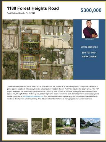 1188 Forest Heights Road, Fort Walton Beach, FL 32547 (MLS #878180) :: Briar Patch Realty