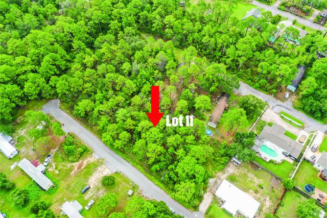 Lot 11 Santana Drive, Santa Rosa Beach, FL 32459 (MLS #880618) :: Berkshire Hathaway HomeServices Beach Properties of Florida