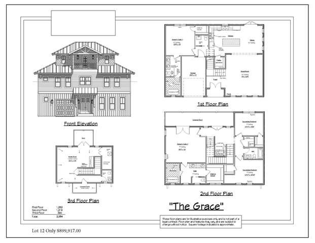 Lot 12 Bella Vista Court, Miramar Beach, FL 32550 (MLS #881172) :: Linda Miller Real Estate