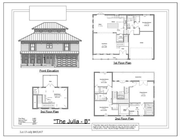 Lot 13 Bella Vista Court, Miramar Beach, FL 32550 (MLS #881215) :: Linda Miller Real Estate