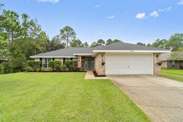 6853 Leisure St Street, Navarre, FL 32566 (MLS #881938) :: Beachside Luxury Realty