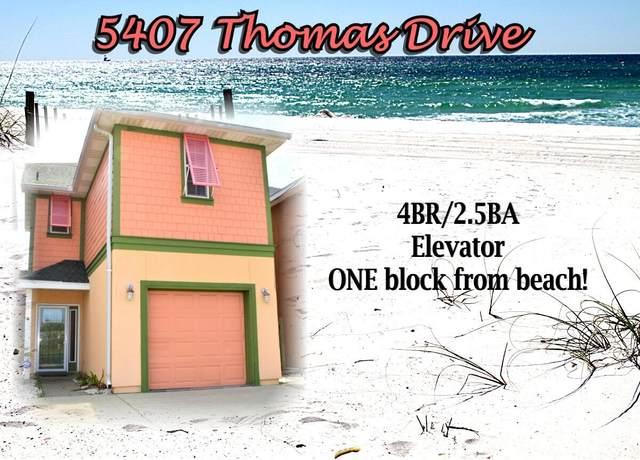 5407 Thomas Drive, Panama City Beach, FL 32408 (MLS #882457) :: The Honest Group