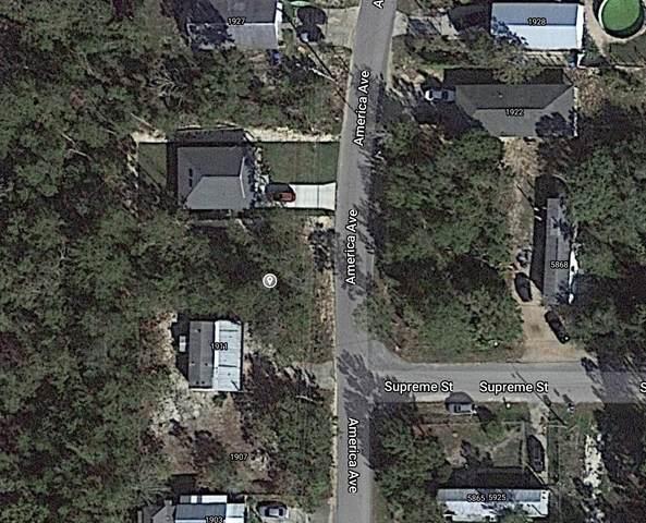 1915 America Avenue Avenue, Gulf Breeze, FL 32563 (MLS #883981) :: Rosemary Beach Realty