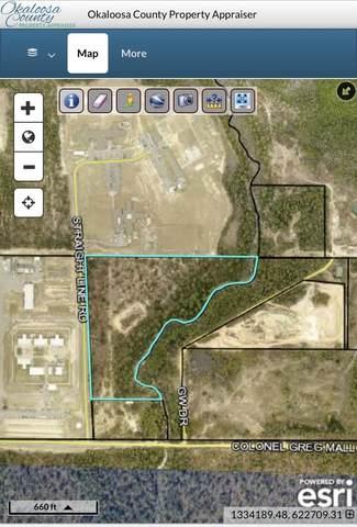16.63 AC Straight Line Road, Crestview, FL 32539 (MLS #884387) :: The Honest Group