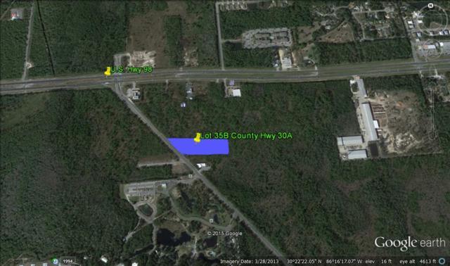 Lot 35B W Cr-30A, Santa Rosa Beach, FL 32459 (MLS #726563) :: RE/MAX By The Sea