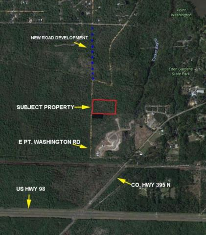 6.7 ACRES E Point Washington Road, Santa Rosa Beach, FL 32459 (MLS #775314) :: ResortQuest Real Estate