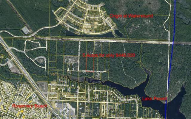 Lot 15 E Rattlesnake Trail, Inlet Beach, FL 32461 (MLS #783243) :: Somers & Company