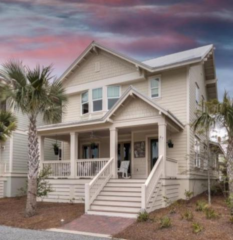 67 Clipper Street, Inlet Beach, FL 32461 (MLS #784398) :: RE/MAX By The Sea